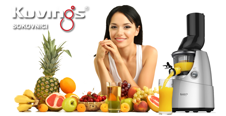 Kuvings sokovnici - 100% prirodni sok dobiven hladnim prešanjem!